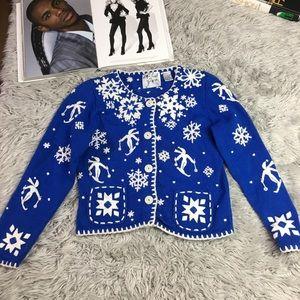 Michael Simon Button up Sweater